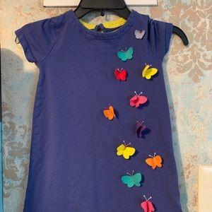 Mini Boden butterfly dress 4/5